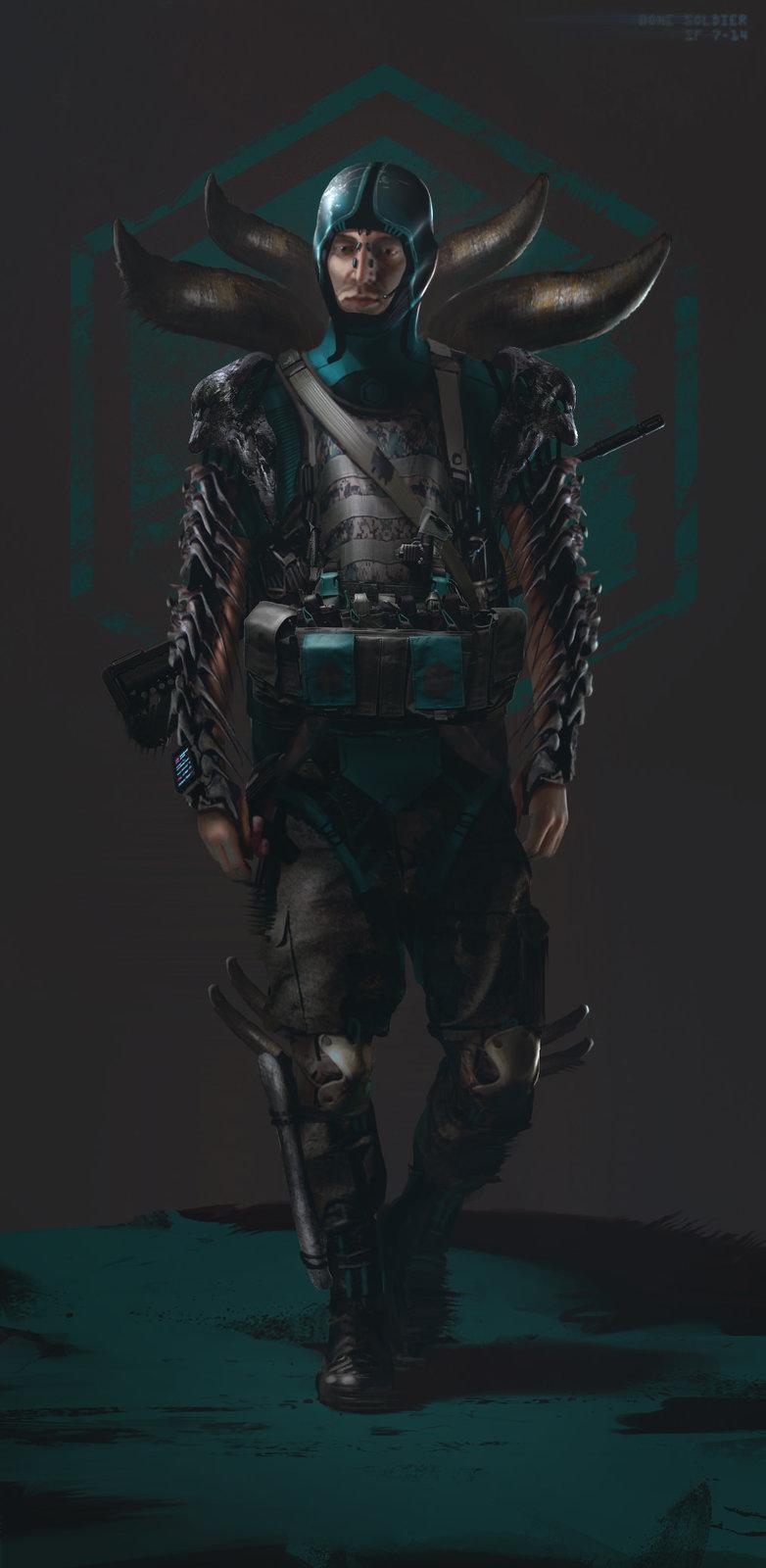 Bone Soldier male