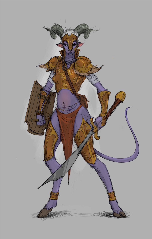 Bruno camara female warrior