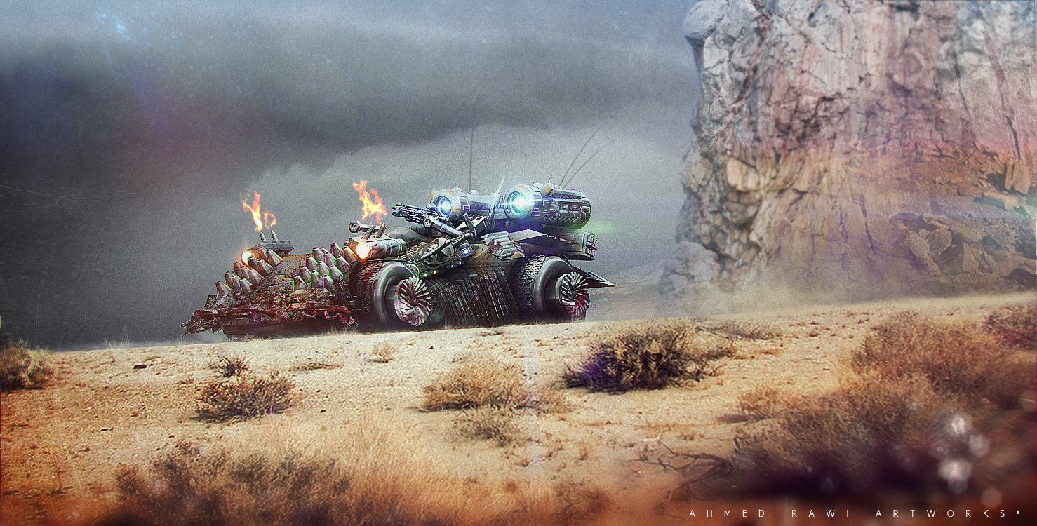 Anti Zombie Vehicle