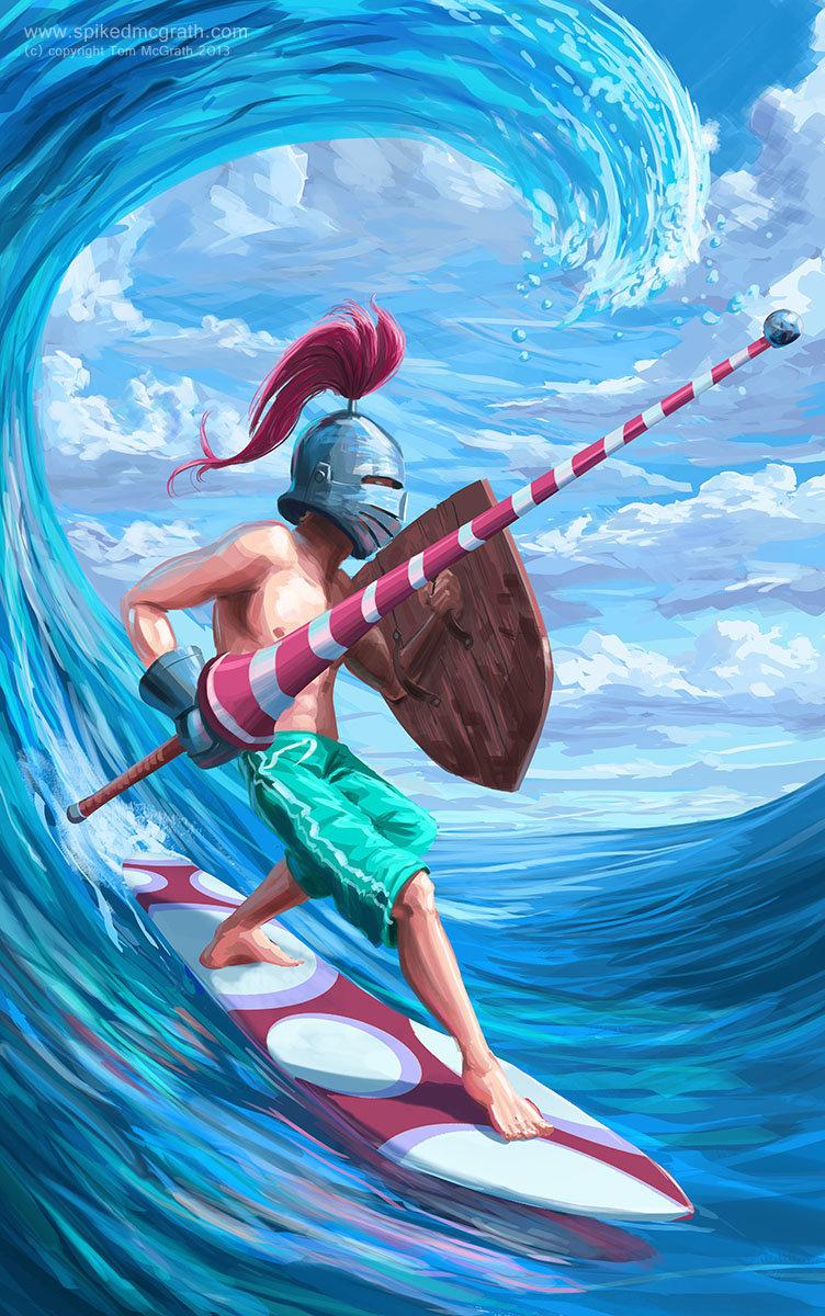 Tom mcgrath surf knight