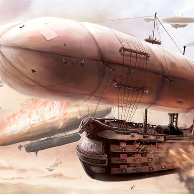 Tom mcgrath airship battle