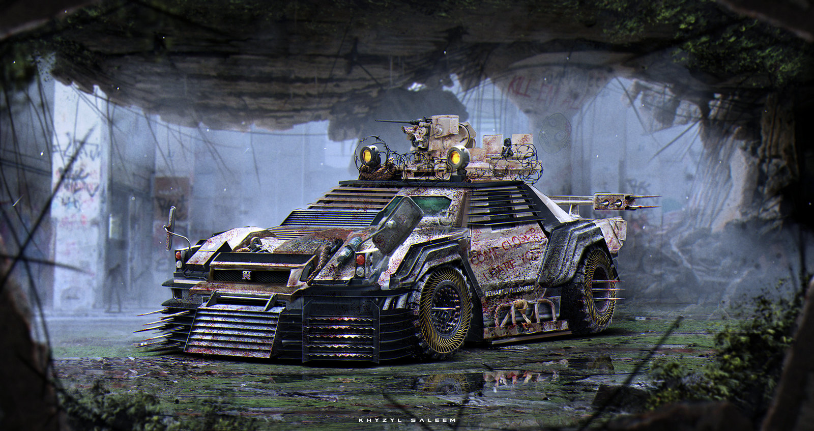 Nissan R34 | Zombie Apocalypse Vehicle