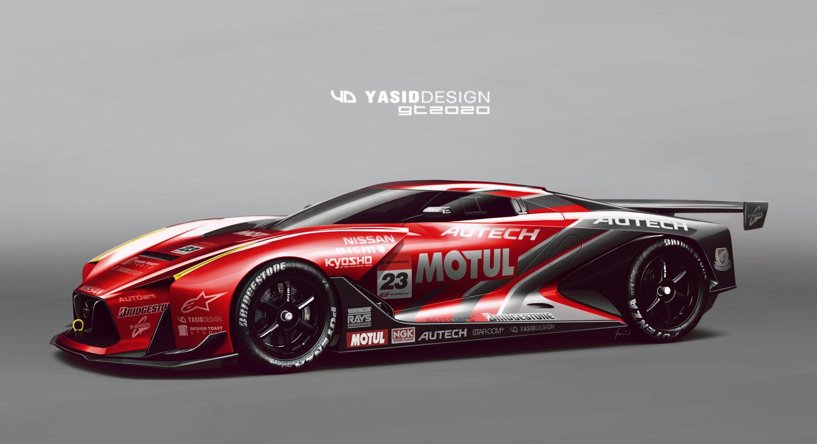 Nissan GT 2020 Motul