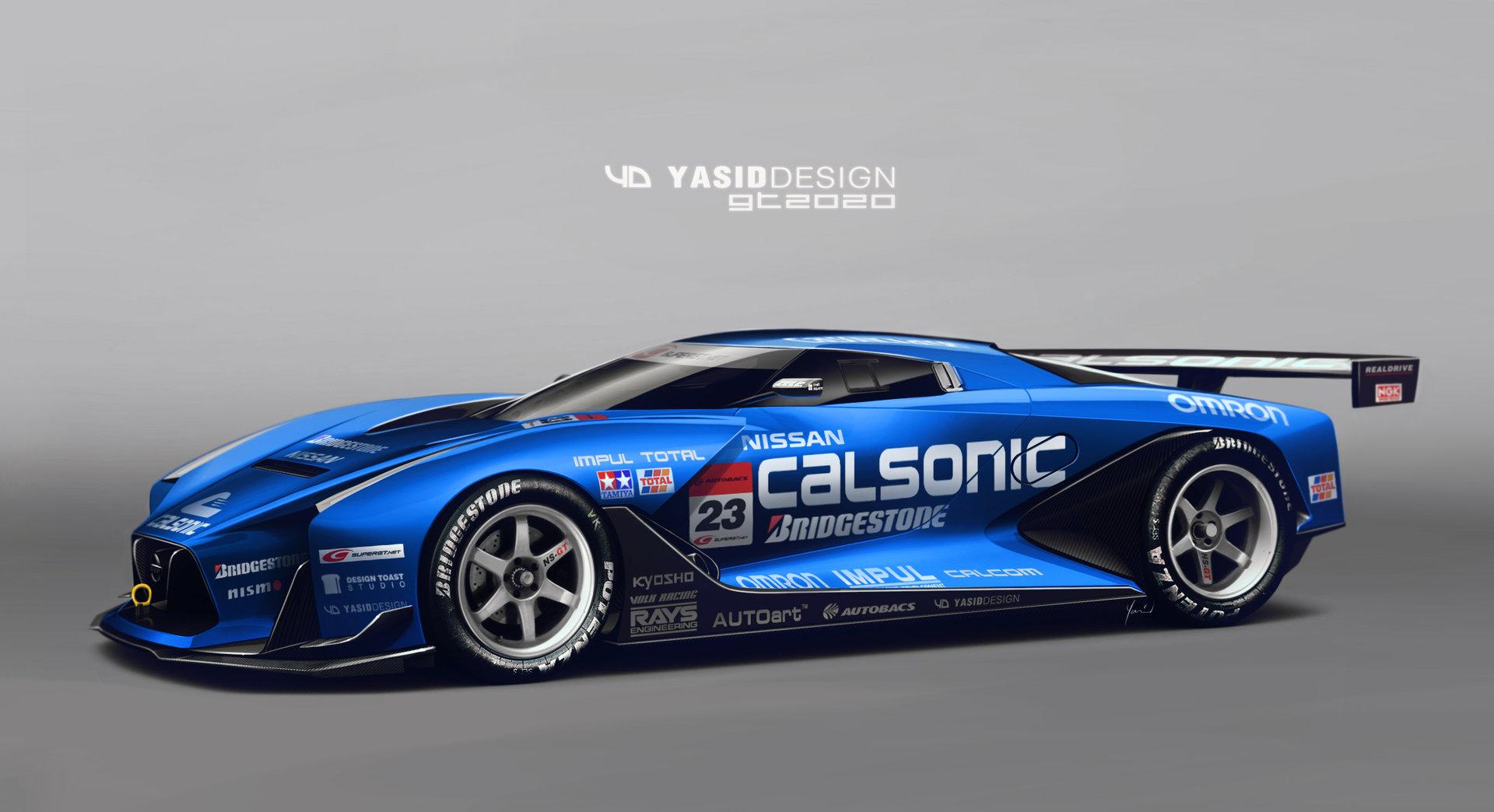 ArtStation - Nissan GT 2020 Calsonic, Al Yasid Oozeear