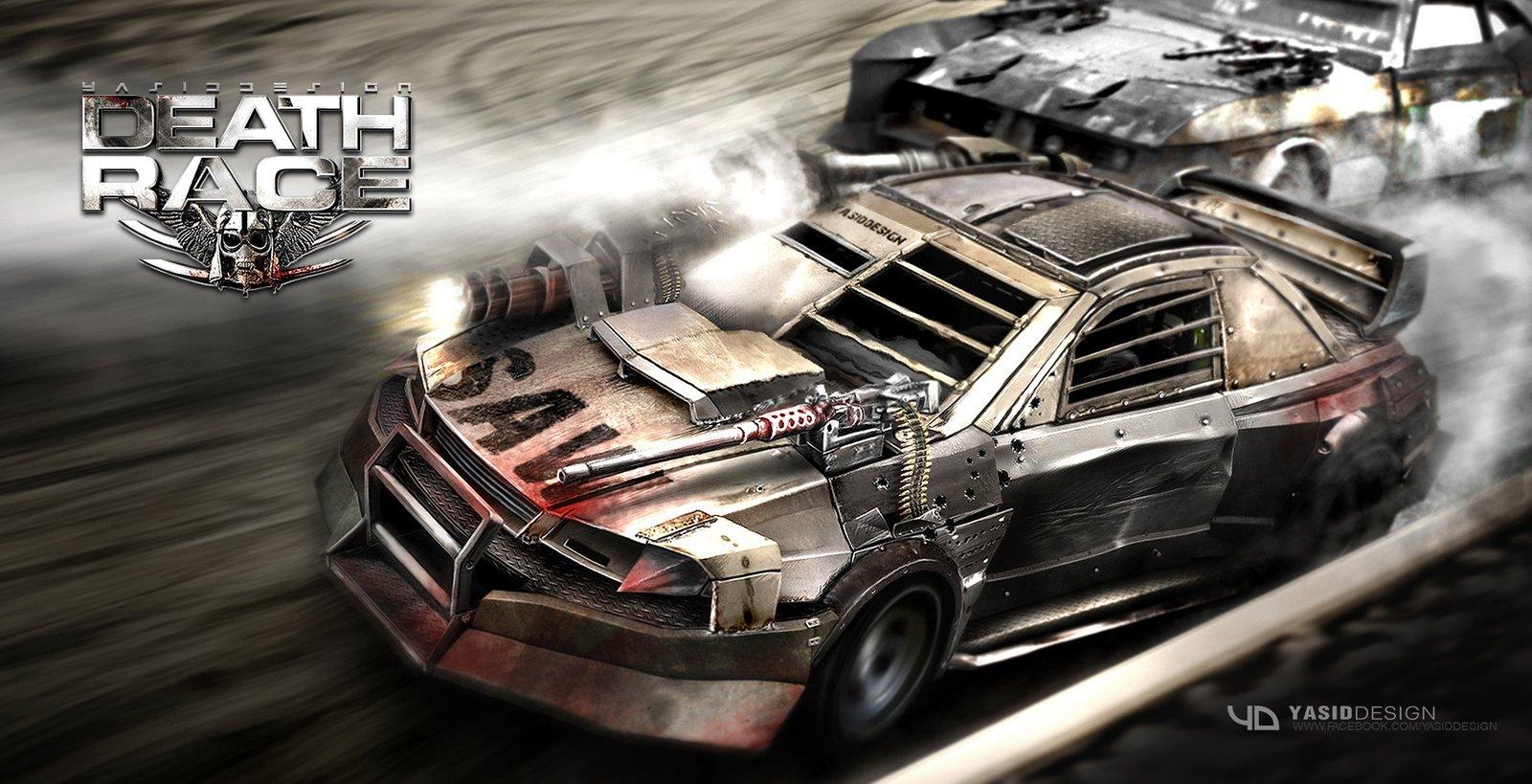 Death race subaru/action cam (lol)