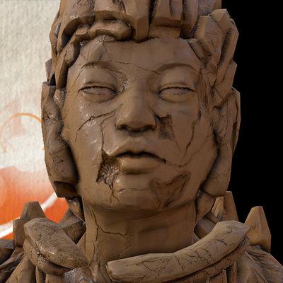 Zem statue montain