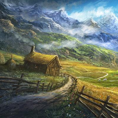 Sabin boykinov secluded farmhouse by sabin boykinov d6nill9