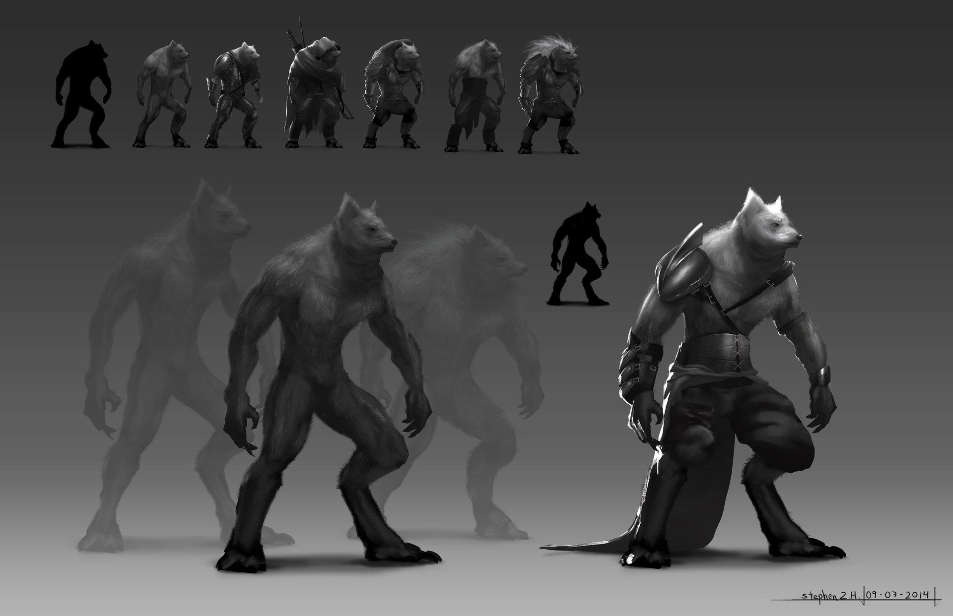 Stephen zavala warewolf 2