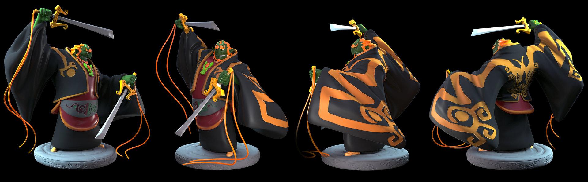 David Chung Windwaker Ganondorf Figure
