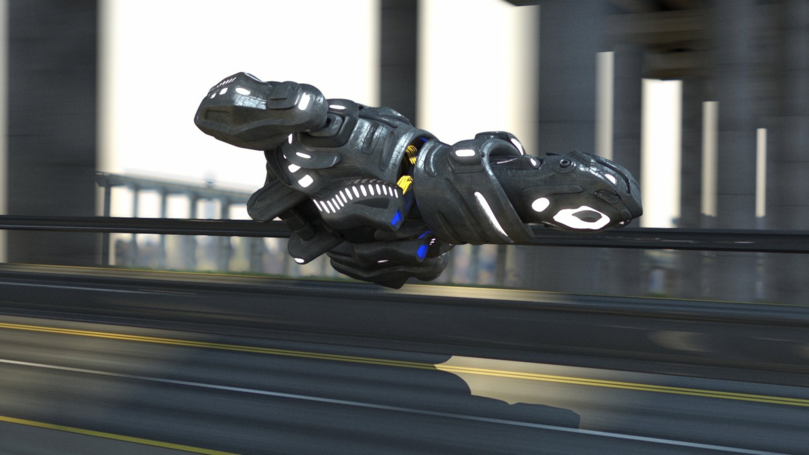 Spaceship (Egg-Hovercraft)