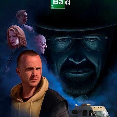 Mattia de iulis breaking bad poster def