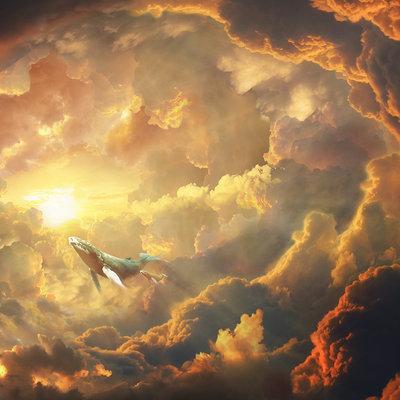 Nicolas zuriaga ballena y nubes chikita
