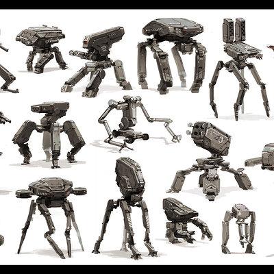 Jean brice dugait 49 robots jb dugait