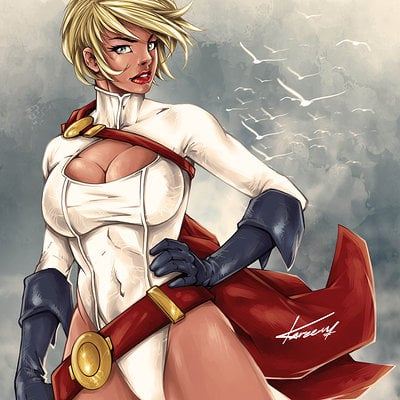 Kareem ahmed powergirl new