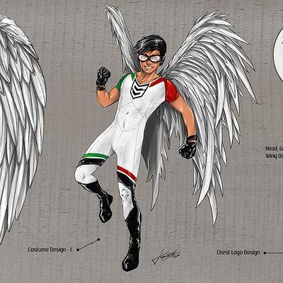 Kareem ahmed saqer character concept low