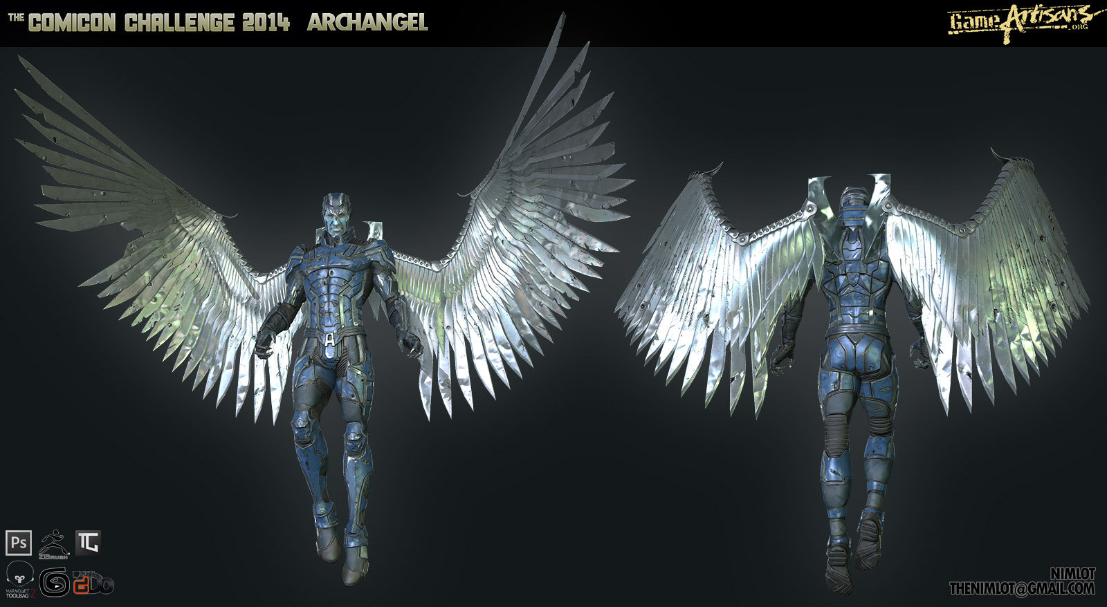 Georgian avasilcutei archangel presentation