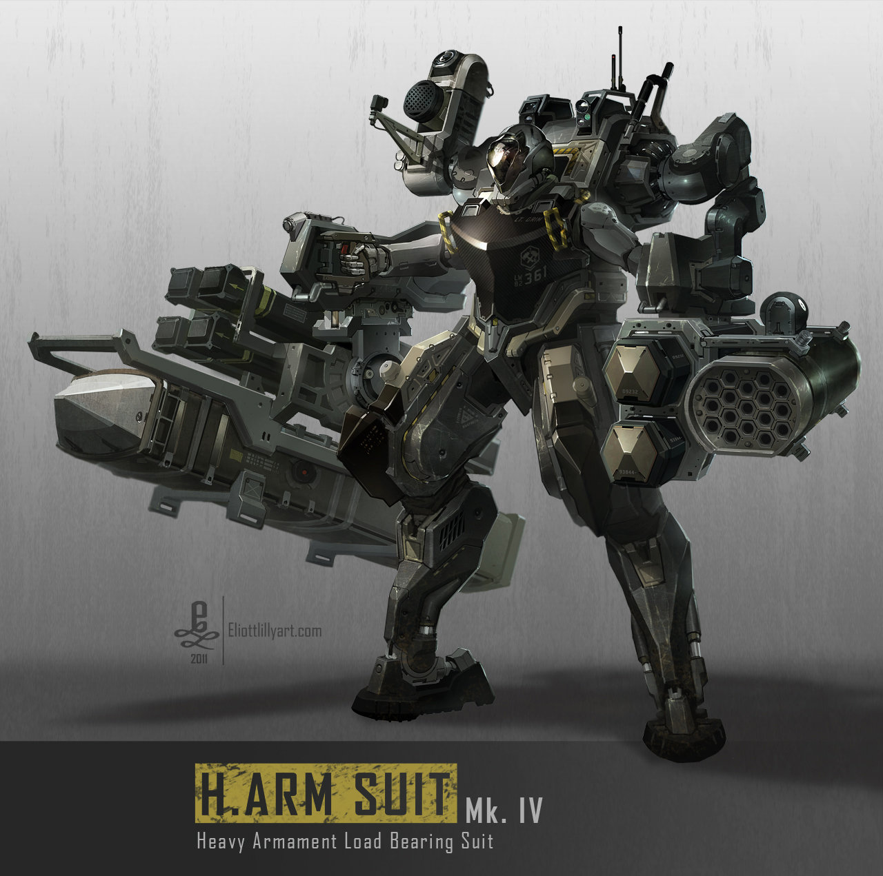 Eliott lilly harm suit mk4