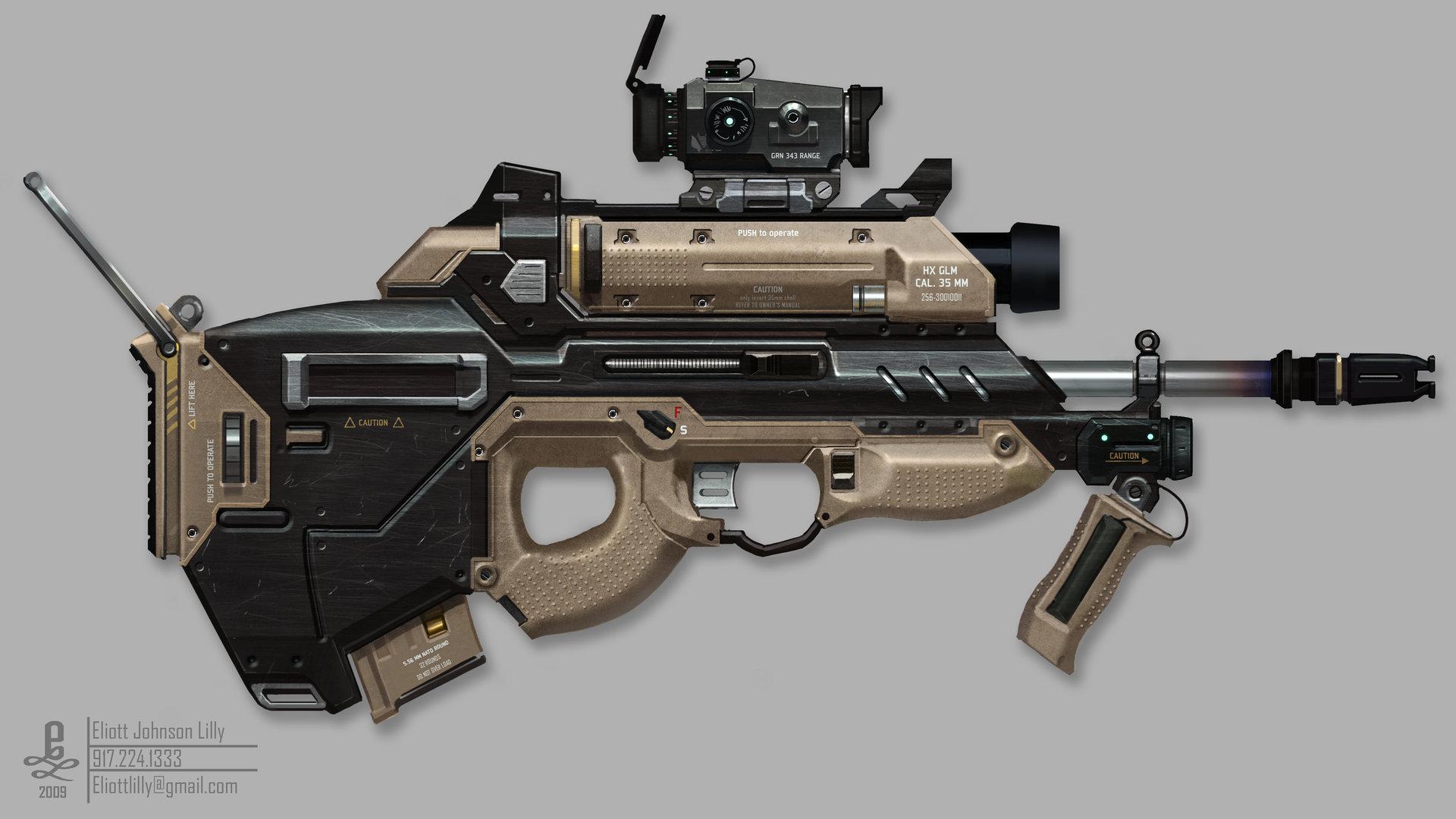 Eliott lilly big gun