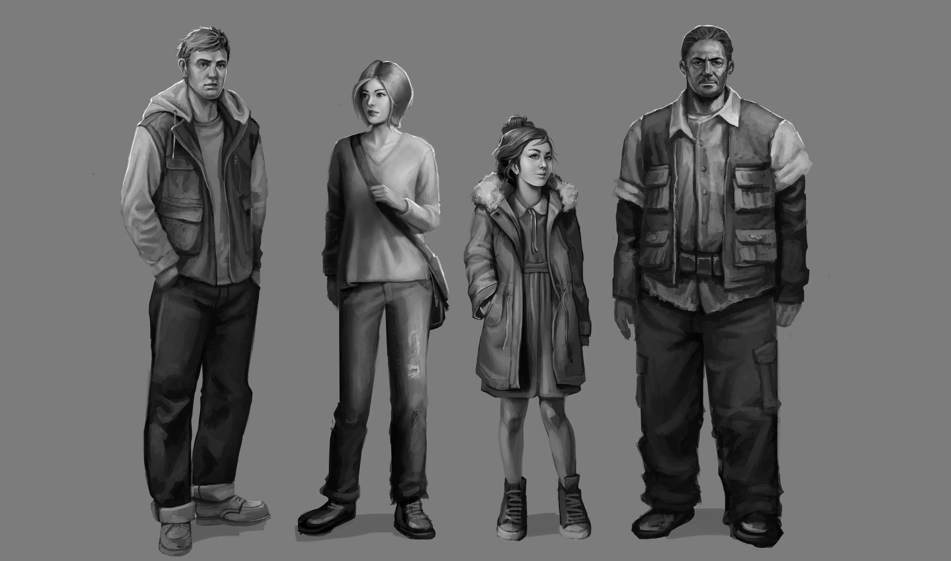 Gizelle karen baluso characters lineup