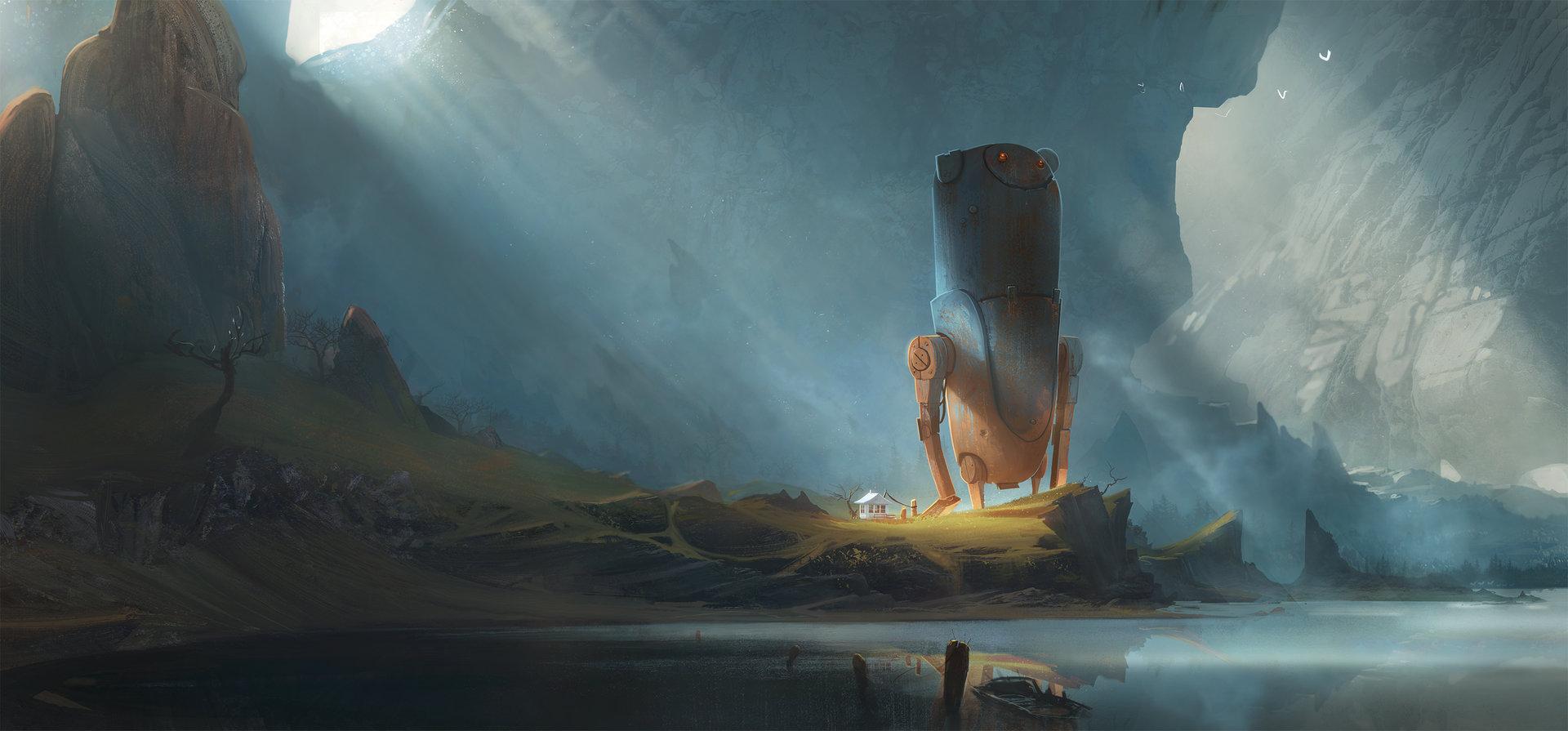 Artstation digital painting techniques v6 cover geoffrey ernault baditri Images