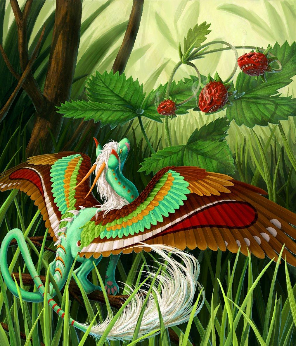 Martina nachazelova dragon strawberry