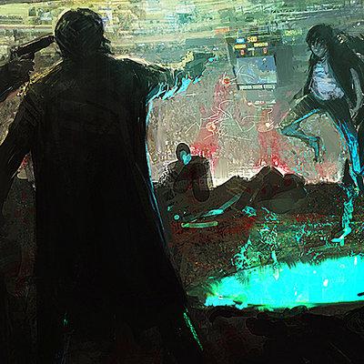 Alexander mandradjiev sky box scene v7 wips