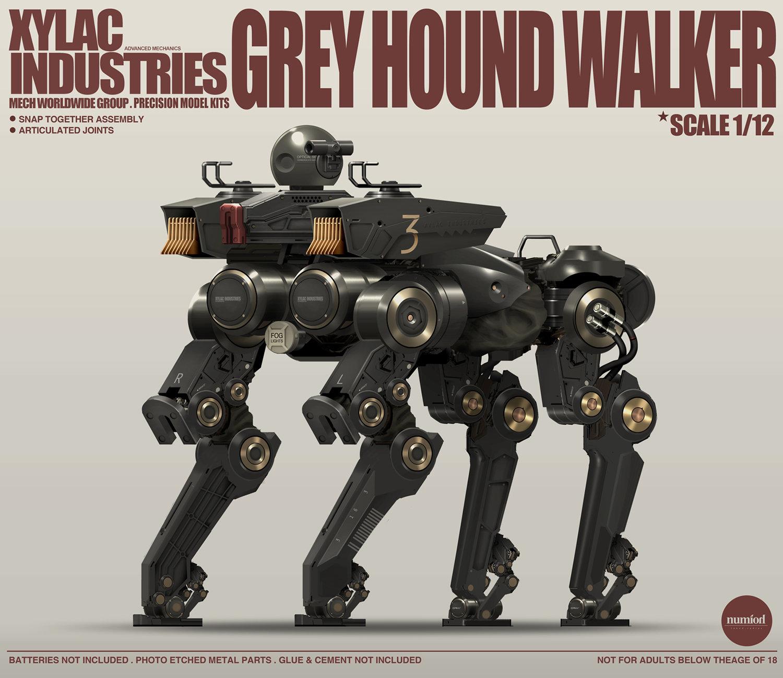 Grey Hound Walker