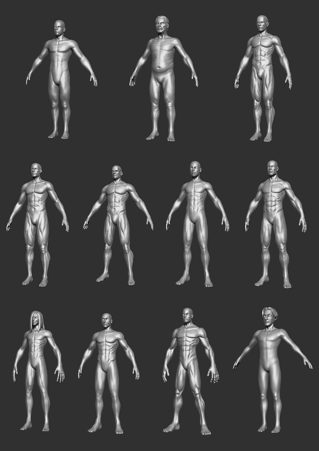 Inventory - Male Bodies