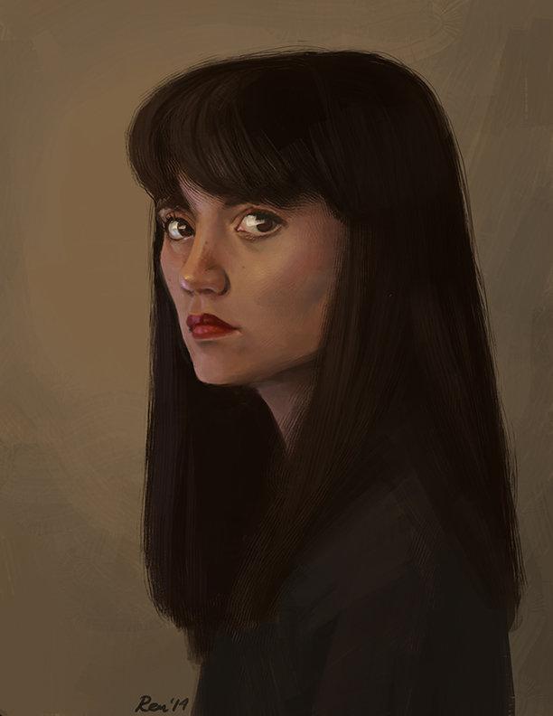 Renee chio autorretrato2