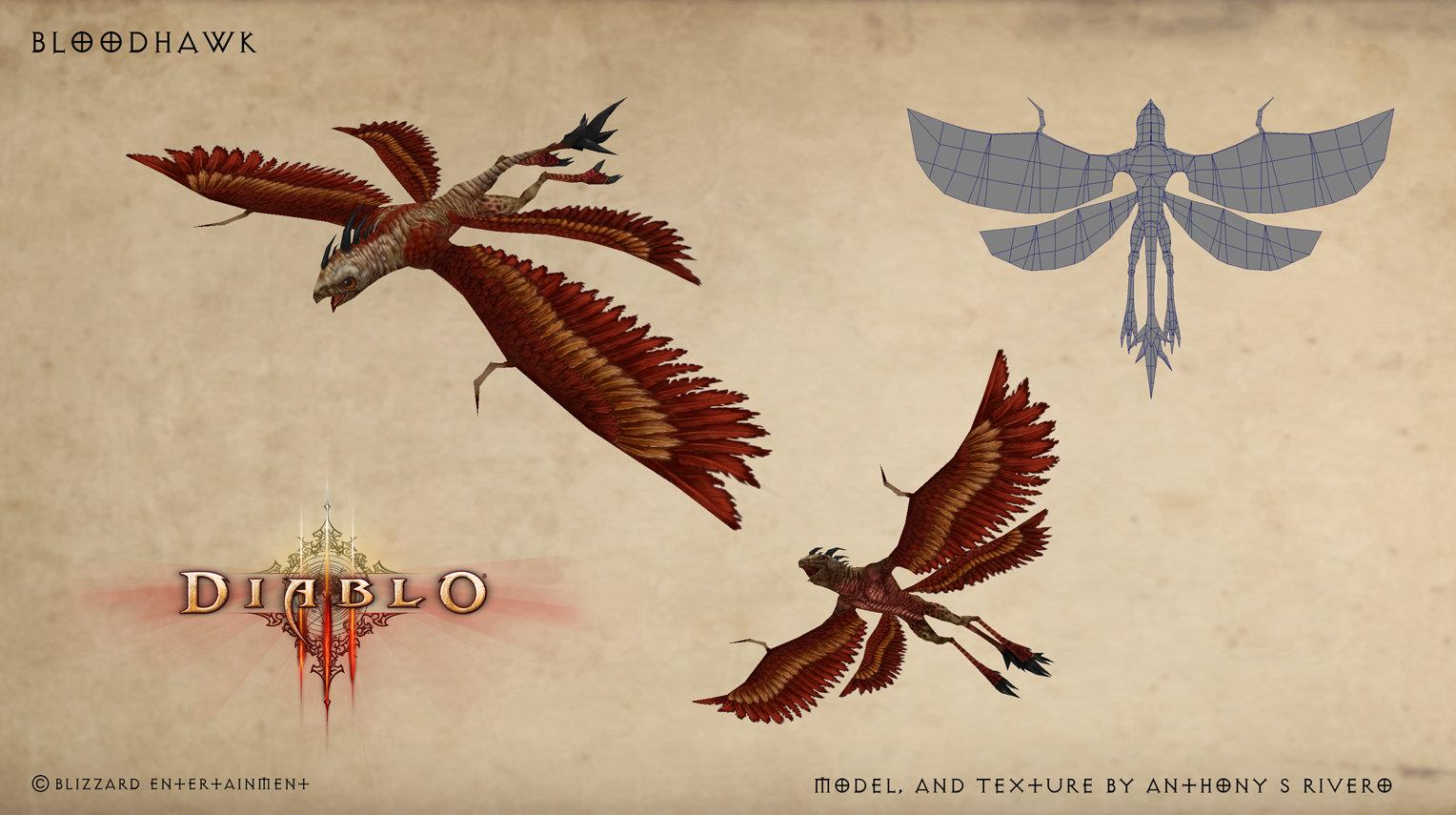 Diablo 3 Bloodhawk