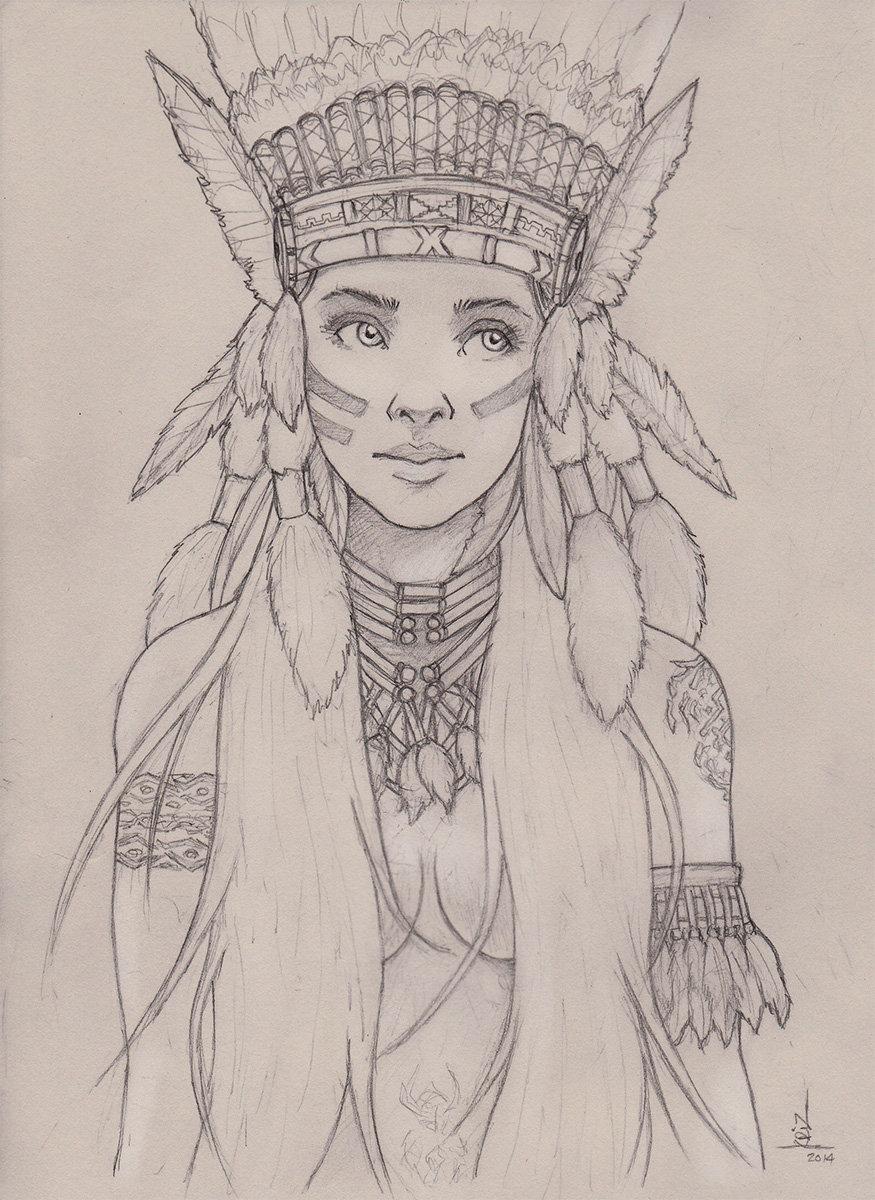 Christian villacis native girl
