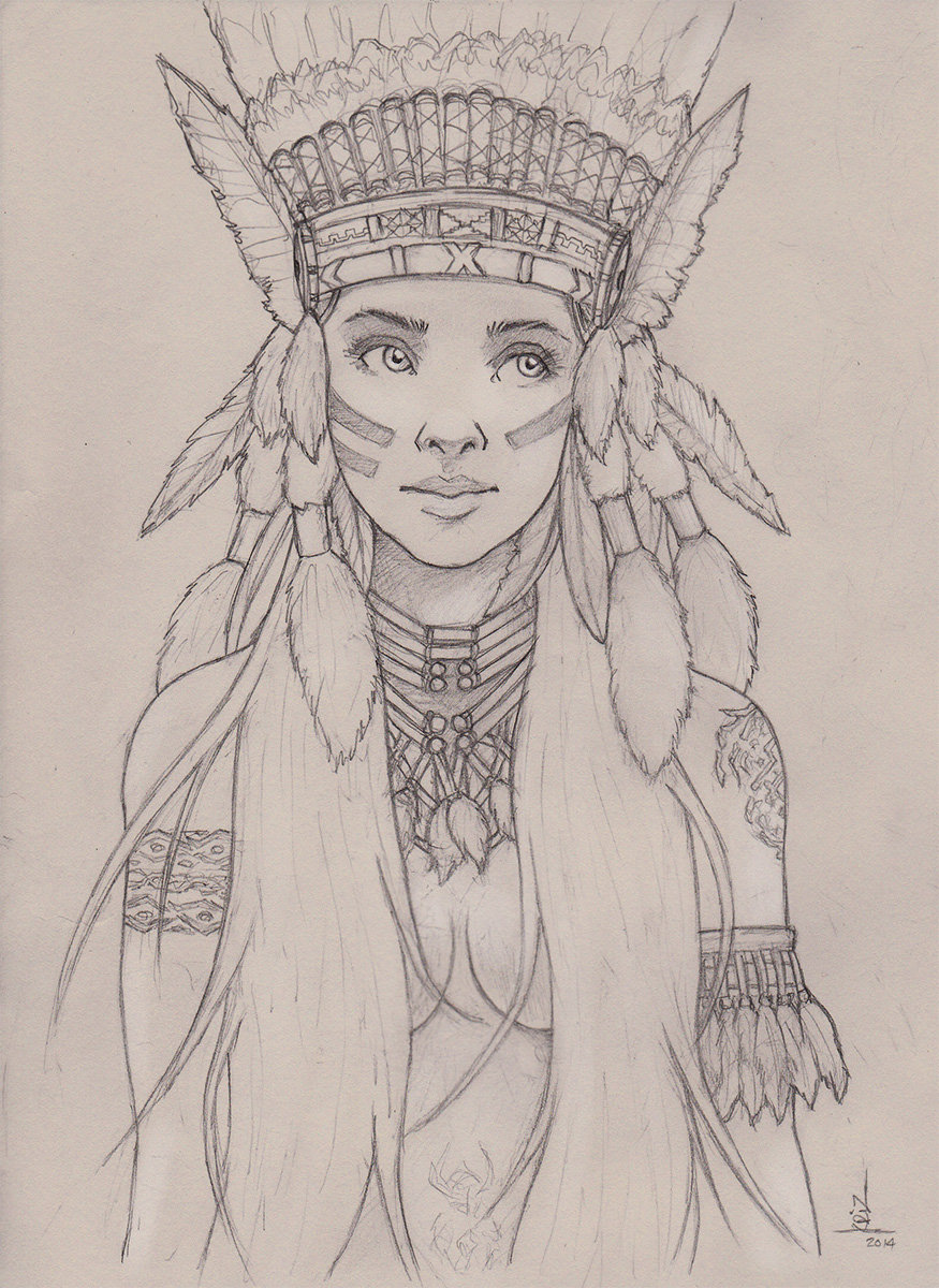 Native girl