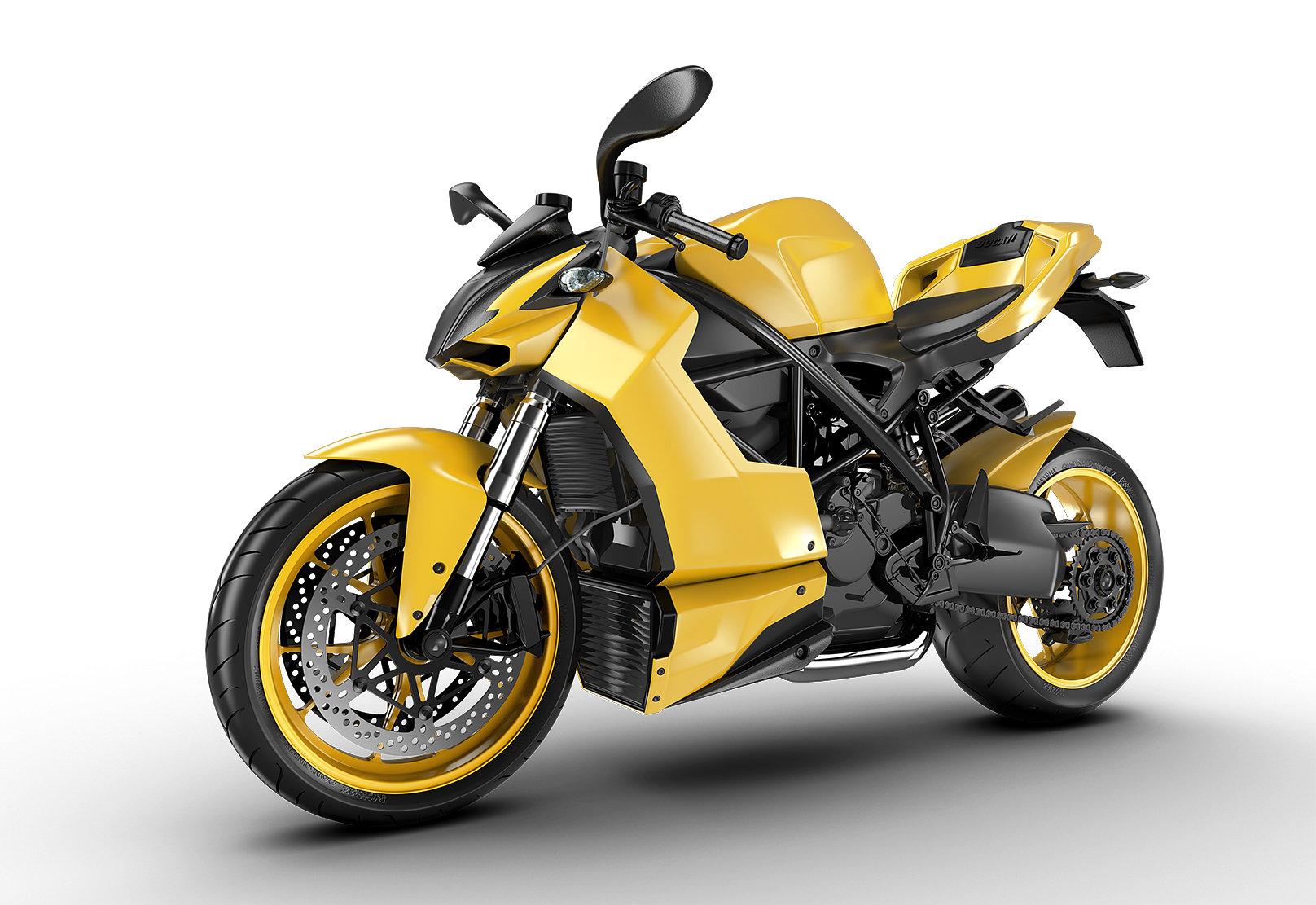 Jomar machado yellow bike studio light
