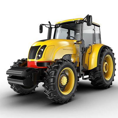 Jomar machado yellow tractor