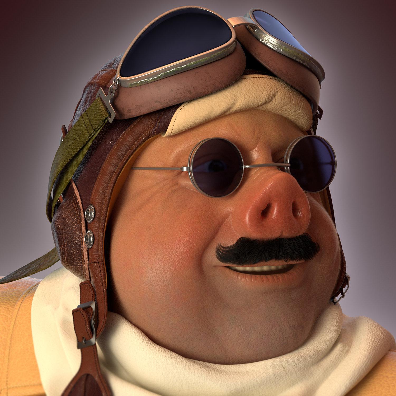 Oleg memukhin porco head
