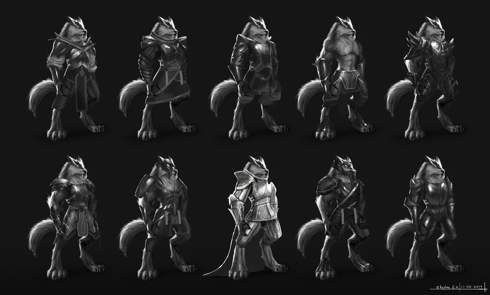 Stephen zavala werewolf armor