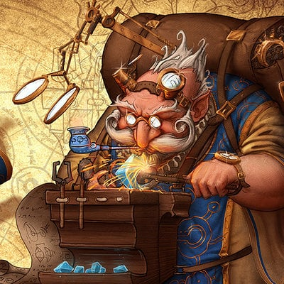 """""""Au Genie Mécanique"""" - Les inventions de Grimboldin """"Grim"""" Feragnon Samuel-pirlot-gnom-by-samshbxl-d77oufs"""