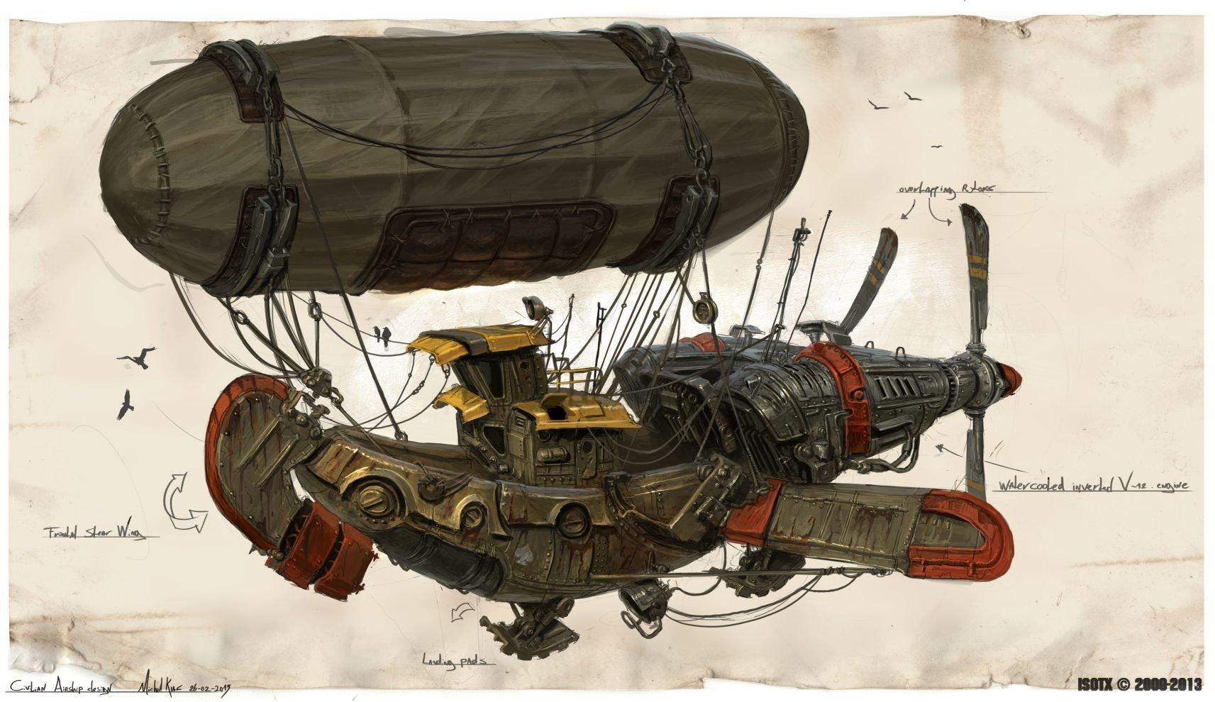 Michal kus marauders2 civilian airship final