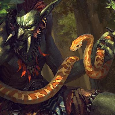 Bayard wu yellow snake