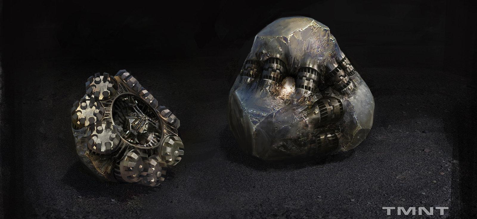 Mysterious orb - TMNT