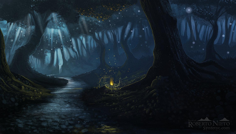 Roberto nieto duskintheforest 1500