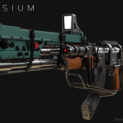 Shashank sharma elysium gun