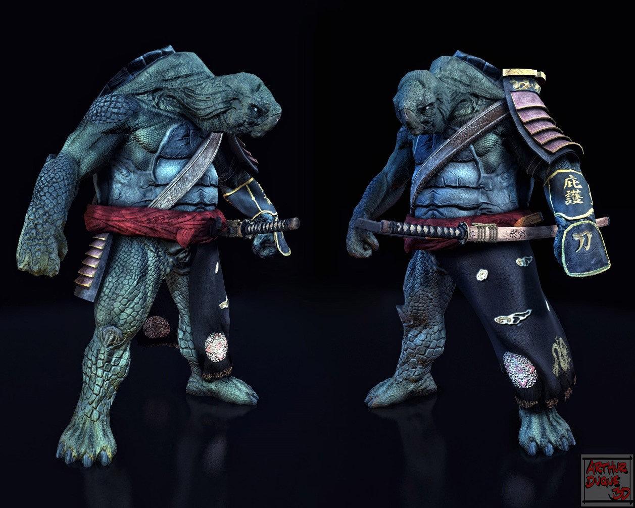 Arthur duque turtle