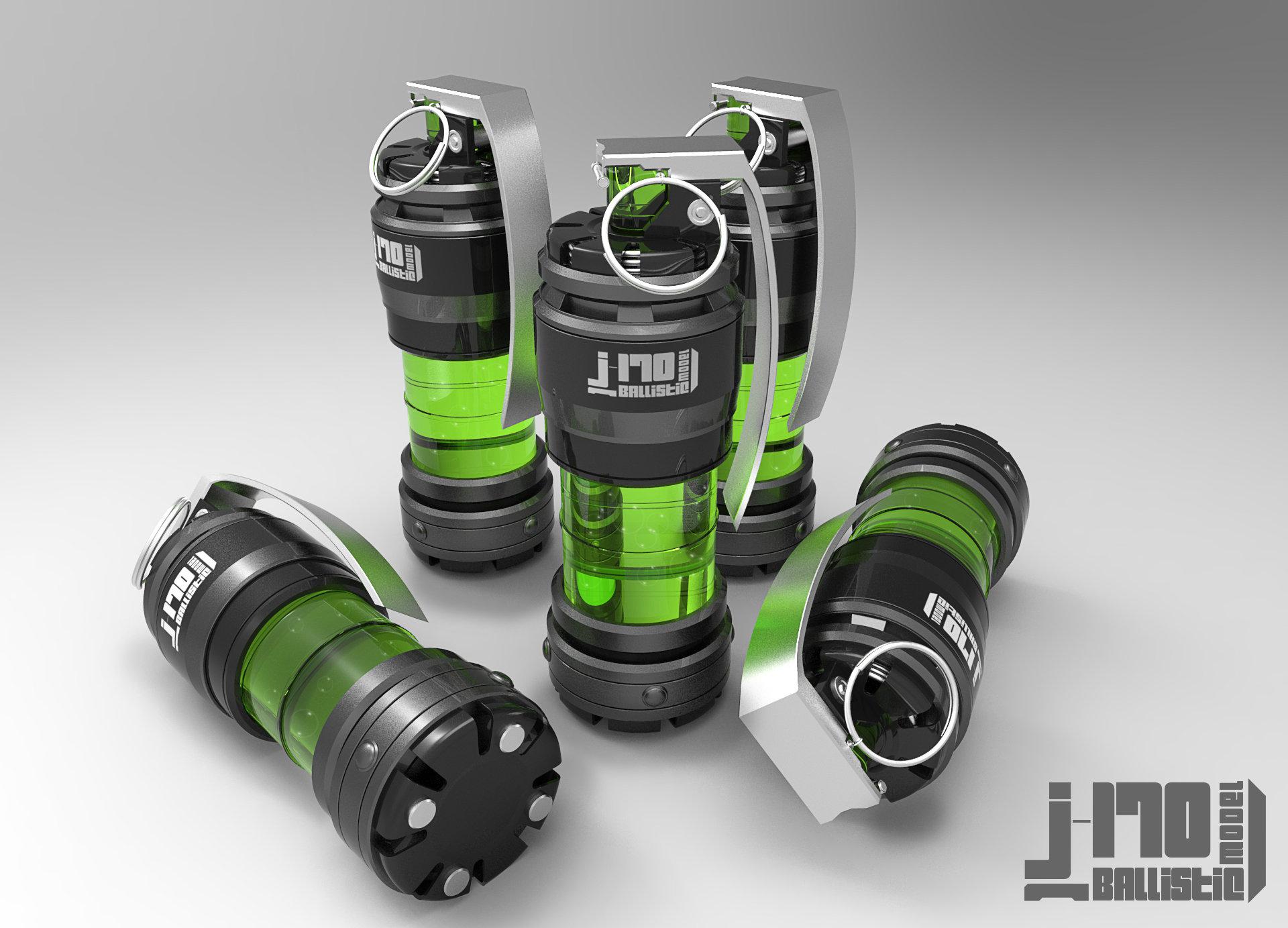Jarlan perez j170 grenade green