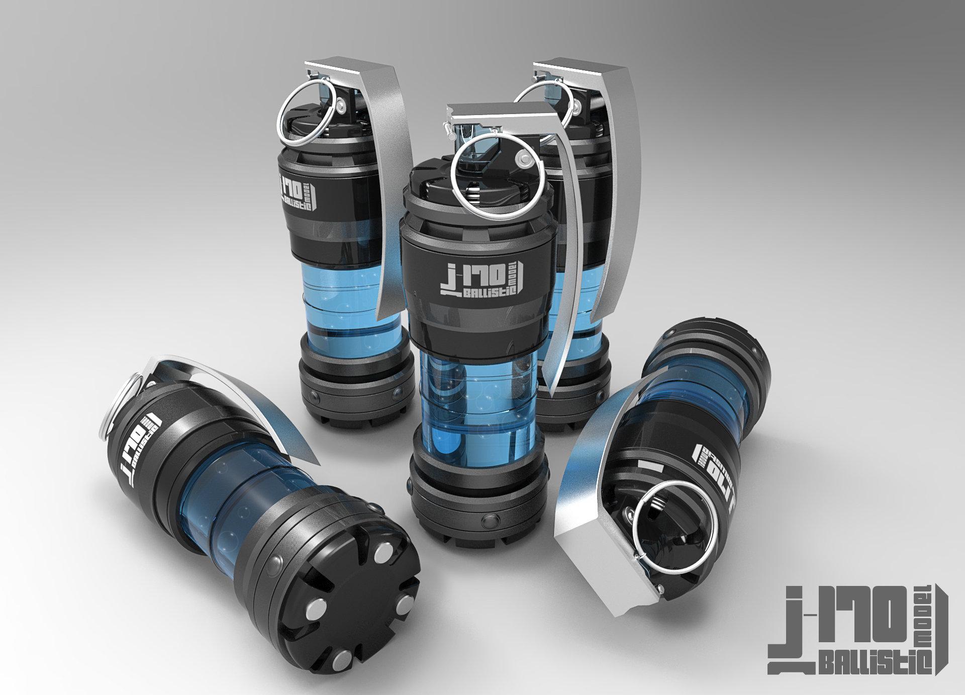 Jarlan perez j170 grenade blue