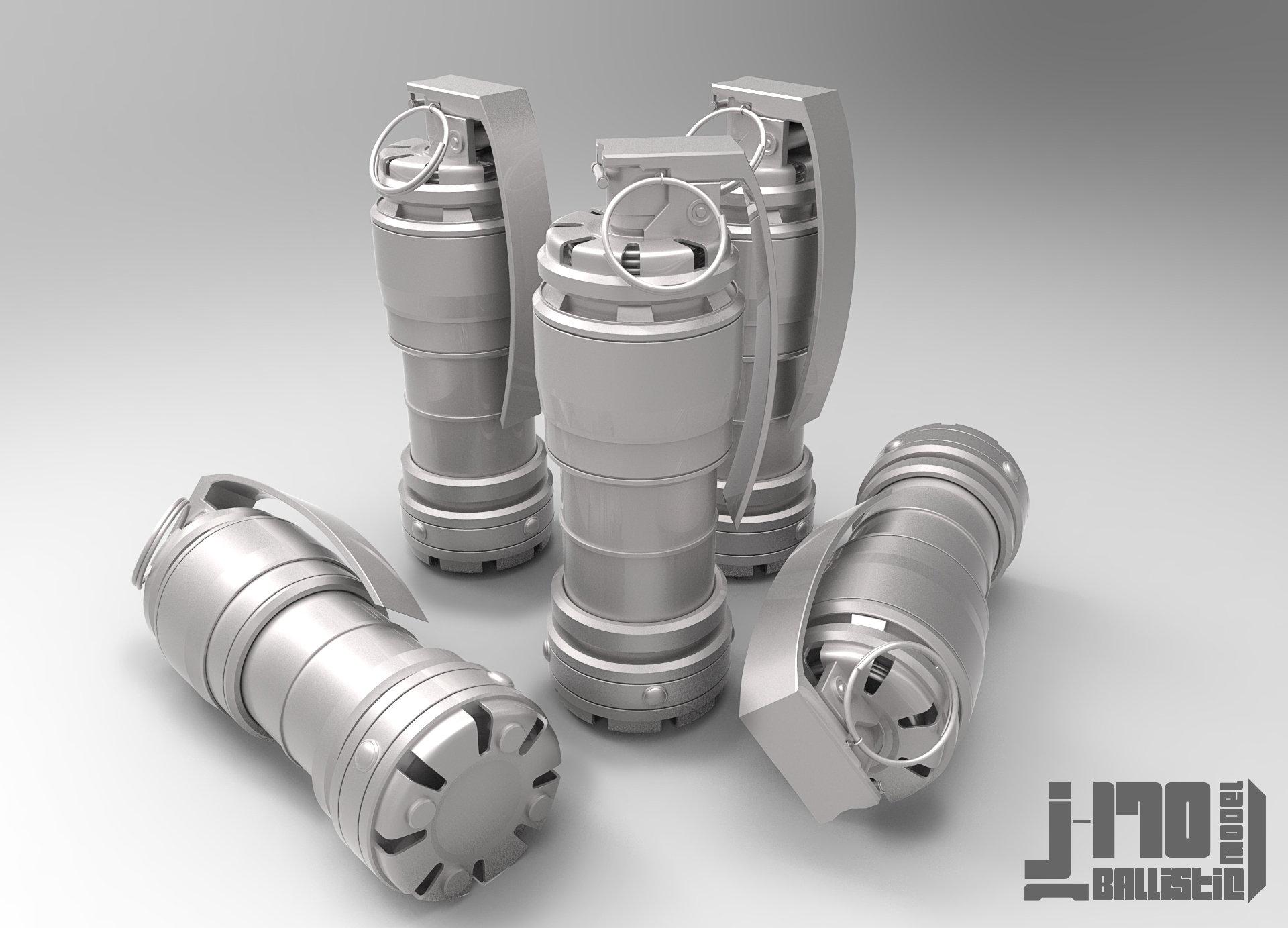 Jarlan perez j170 grenade grey