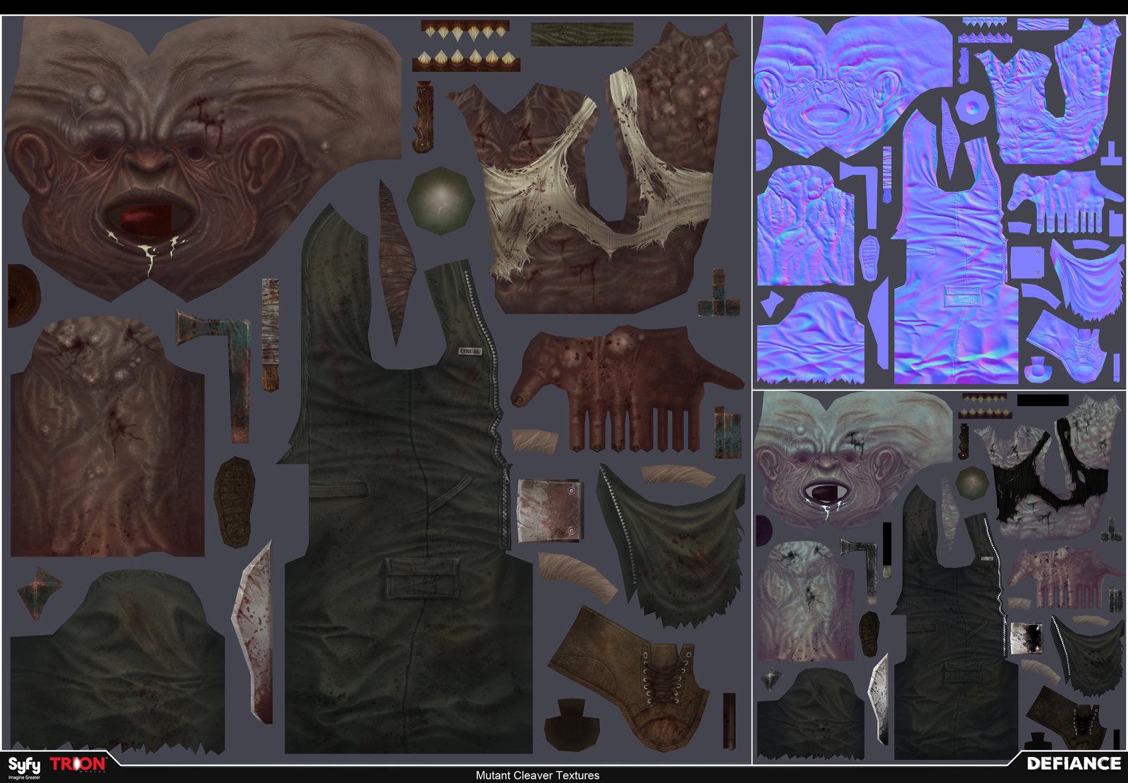 Satoshi arakawa npc mutant cleaver textures