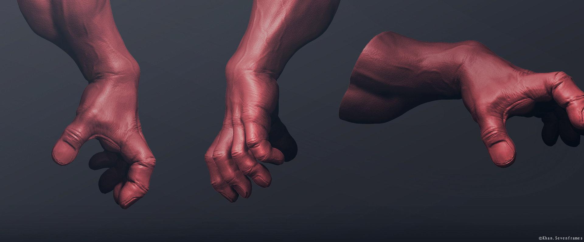 Khan SevenFrames Hulk Hands Inspired by Andy Bergholtz
