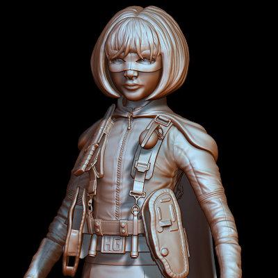 Satoshi arakawa hit girl sculpt