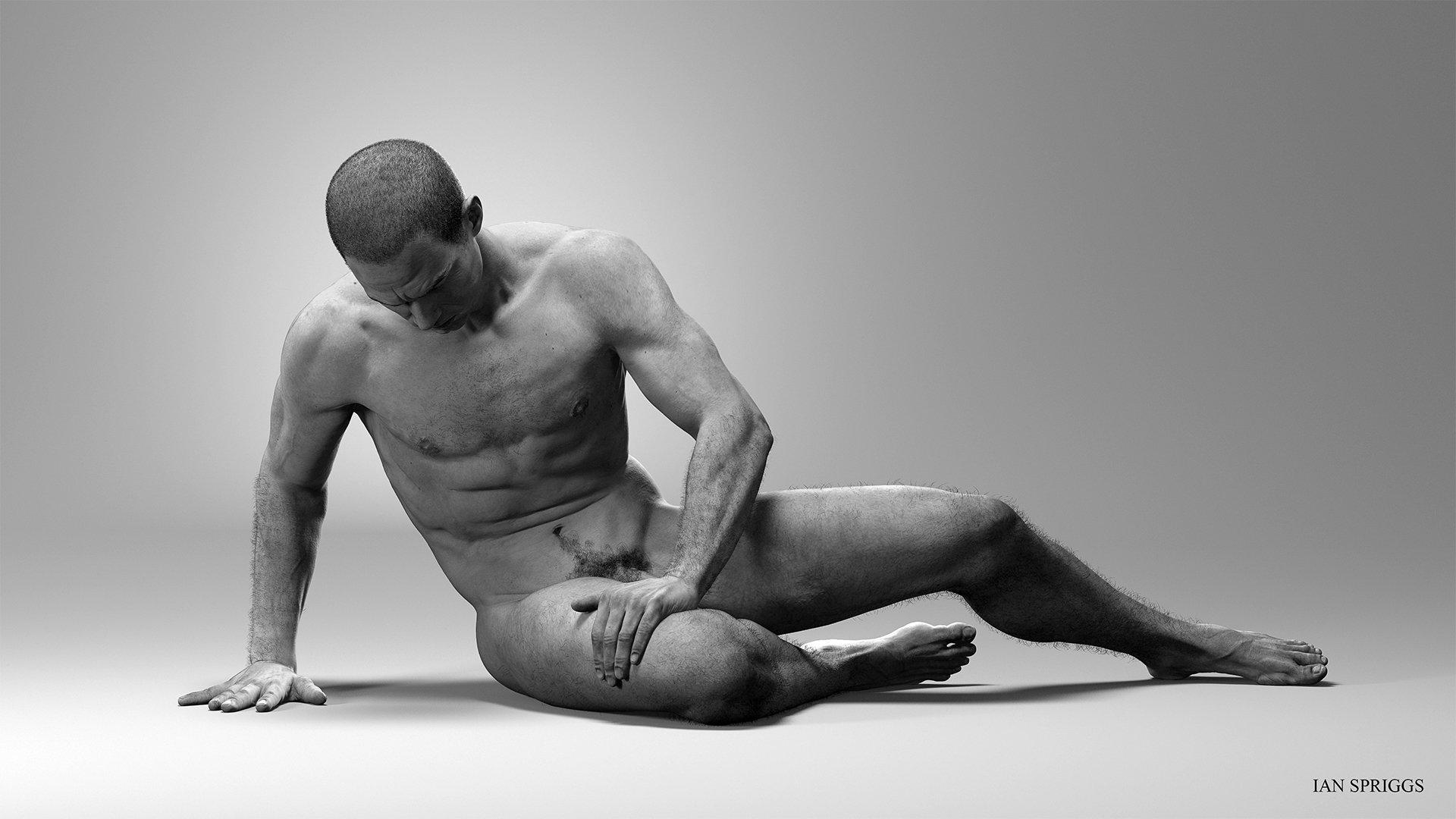 Anatomy Study: The Dying Gaul